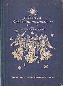 """Allgemeine Kurzgeschichten Ellen Seeler """"der Himmelsgarten"""" Sonne Mond Sterne Ernst Wunderlich Worms 1949 Zu Verkaufen"""