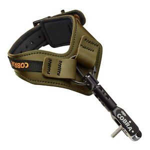 Black 4 Finger Grip Caliper Arrow Release Aids for Compound Bow Hunting Archery