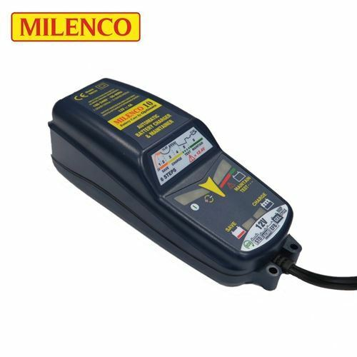 Milenco 10 by Optimate Multi Step Smart Battery Charger Maintainer Leisure Auto