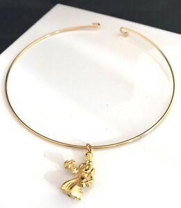 Vintage-Monet-Necklace-Gold-Slide-Woman-with-Basket-Pendant-Signed-2v
