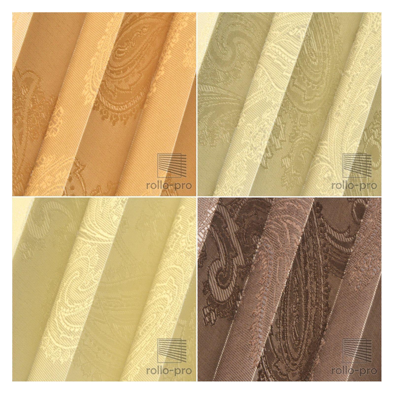 Plissee Faltrollo ohne Bohren Plisee nach Maß  FIGURADO    Profil Golden Eiche NEU | Exquisite Handwerkskunst  97157b