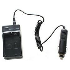 AC Wall Charger + In-Car Adapter for Sony PSP-110 Battery