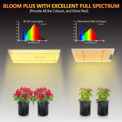 Bloom Plus 2500W LED Grow Light Sunlike Full Spectrum Indoor Plants Veg Flower