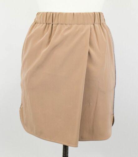 Details about  /NWT BRUNELLO CUCINELLI Women/'s Pink Silk Blend Monili Trim Skirt Size 2//38 $1575