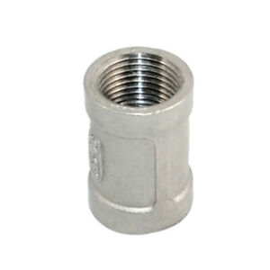 1Pcs-3-8-034-Female-x-Female-Couple-Stainless-Steel-304-Threaded-Pipe-Fitting-NPT