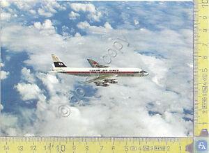 DC-8 Jet Japan Airlines - 1966 - Cartolina - Postcard - Italia - L'oggetto può essere restituito - Italia