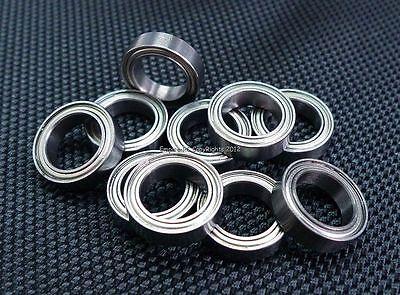 (10 Pezzi) 6700zz (10x15x4 Mm) Metallo Schermato Cuscinetto A Sfera 6700z