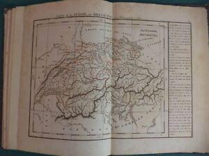 La Cartina Geografica Della Svizzera.1836 Atlas Delamarche Paris Carta Geografica Della Svizzera Ebay