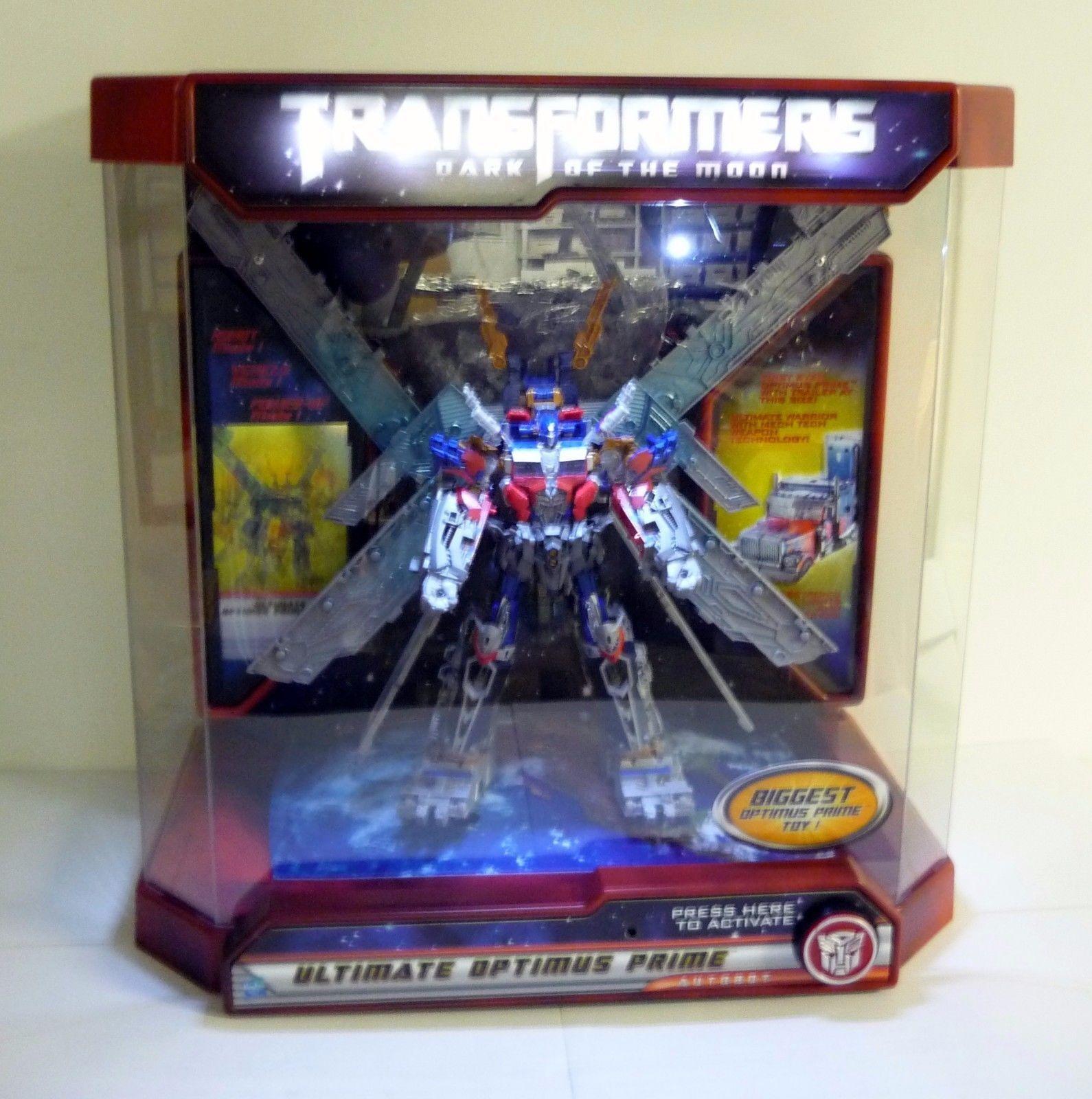 Transformers Optimus Prime Store Display Case Ultimate 24  Dotm completa 2011