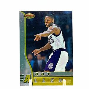 1997-98 Topps Bowmans Best Ray Allen Rookie #R5 Milwaukee Bucks