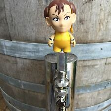 Street Fighter CHUN-LI Tap Handle Beer Keg Video game CAPCOM Chung Lee Kickass