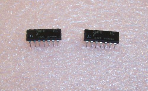 74H11PC FAIRCHILD VINTAGE  14 PIN DIP PACKAGE AND GATE NOS 1 TUBE 25 QTY