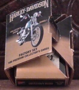 Vintage-Harley-Davidson-Factory-Set-of-100-Collector-039-s-Premium-Cards-Series-2