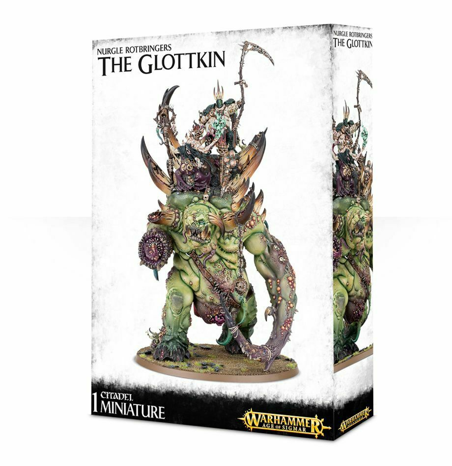 The Glottkin Nurgle redbringers Age of Sigmar Games Workshop. 20% off UK rrp.
