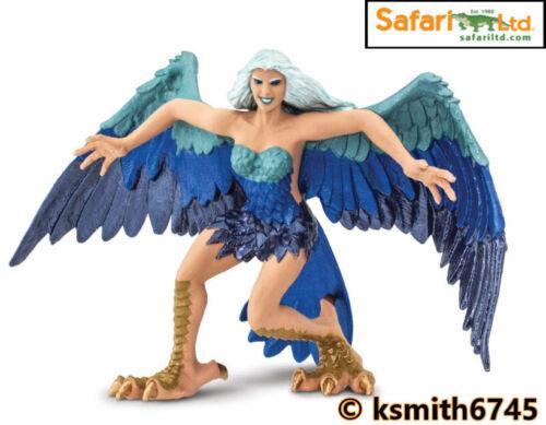 Safari Harpie solide Jouet en plastique Fantasy mythique WINGED WOMAN Animal Nouveau