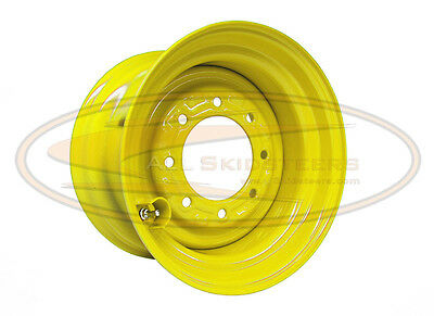 New Holland 8.25x16.5 10 x 16.5  skid steer loader wheel rim tire new 8 lug nut