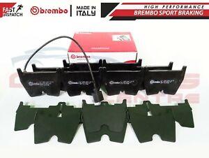 FOR-RS3-RSQ3-QUATTRO-TT-2-5-TURBO-FRONT-GENUINE-BREMBO-BRAKE-PADS-SET-amp-SENSOR