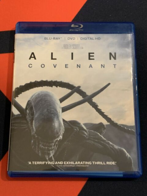 Alien: Covenant (Blu-ray/DVD, 2017, 2-Disc Set, Includes Digital Copy)