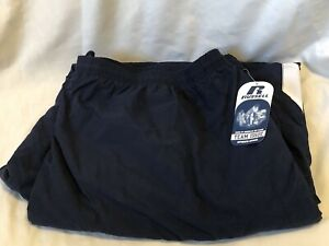 RUSSELL TEAM ISSUE Dark Blue Lined Athletic Warm-up Pants Mens size 4XL NWT NEW