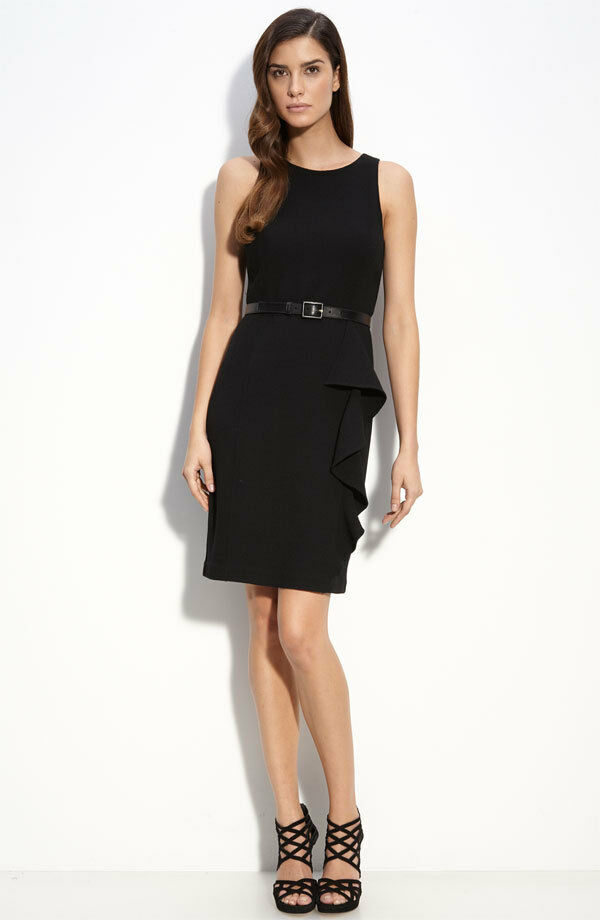 St. John Collection Double Face Wool Crepe Dress ( Size 2)