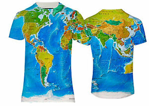 New america asia europe world map globus over printed printed t la imagen se est cargando new america asia europa mapamundi globus sobre impreso gumiabroncs Image collections