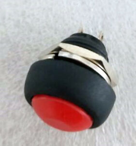 1-RED-Momentary-Normal-OFF-ON-Push-Button-Switch-R33B