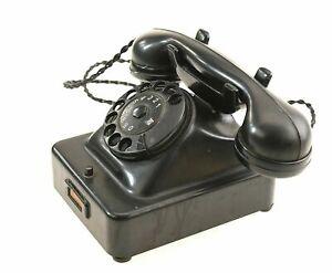 original TN Rarität antik Telefon aus 1952 Nebenstellen Gerät Rar Erdungstaste