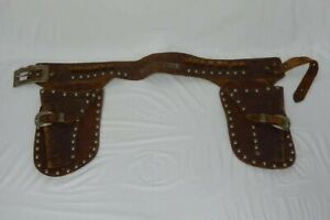 Vintage Roy Rogers Toy Cap Gun r Double Holster with Belt