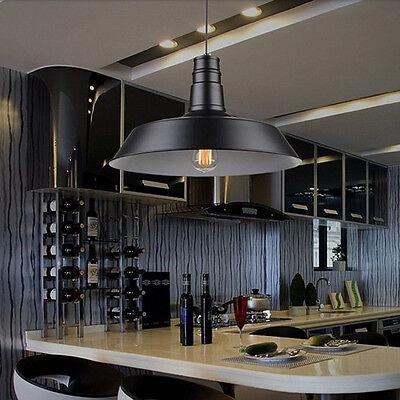 Industrial Vintage Edison Hanging Ceiling Light Pendant Lamp Fixture Fitting