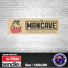 Great Northern Brewing Co. Banner - The Mancave Bar Beer Spirits Shed