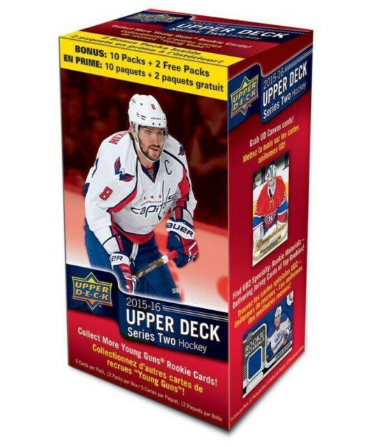 2015/16 Upper Deck Series 2 10-Pack Blaster Box Young Guns