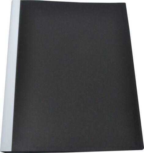 Sichtbuch 20 Hüllen PP f A4 schwarz Klarsichttaschen FolderSys 25002-30