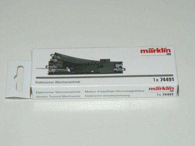Märklin 74491, Elektrischer Weichenantrieb für C Gleis Weichen, neu, OVP