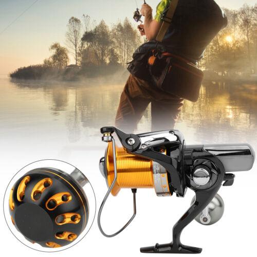 15+1 Bearing Spinning Fishing Reel Metal Spool Saltwater Fish Bait Casting Wheel