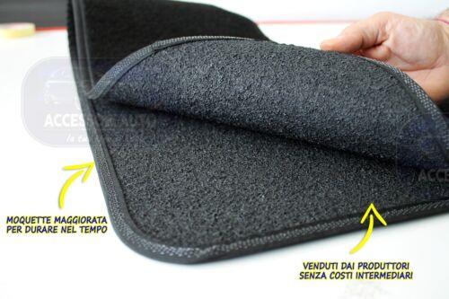 Tappeti per Toyota Rav 4 2006/>2013 Tappetini specifici su misura blu su per rica