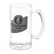 Bundy Bundaberg Rum Metal Badge 500ml Glass Stein Bar Man Cave Fathers Day Gift