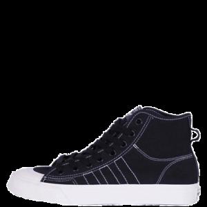 Details about adidas Nizza Hi RF Men's Casual Shoes Black Lifestyle Sneakers 2019 F34057