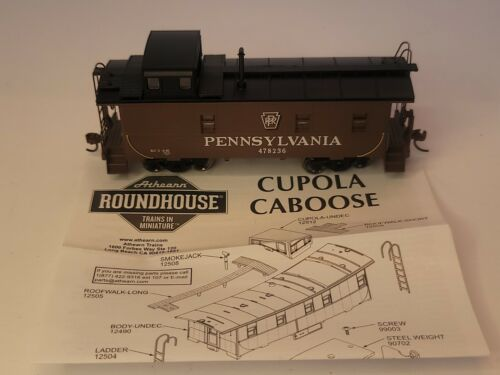 Details about  /athearn Roundhouse HO Scale Pennsyvania Cupola Caboose RND87831Brown
