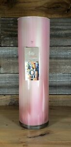 Arte-Italia-by-Franco-Handmade-Glass-Vase-Pink-Cream-Taupe-Made-in-Italy-16-034