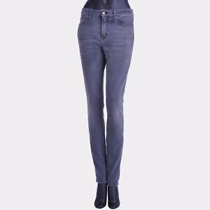 SAINT-LAURENT-PARIS-750-Original-Grey-Mid-Waisted-Skinny-Stretch-Jeans