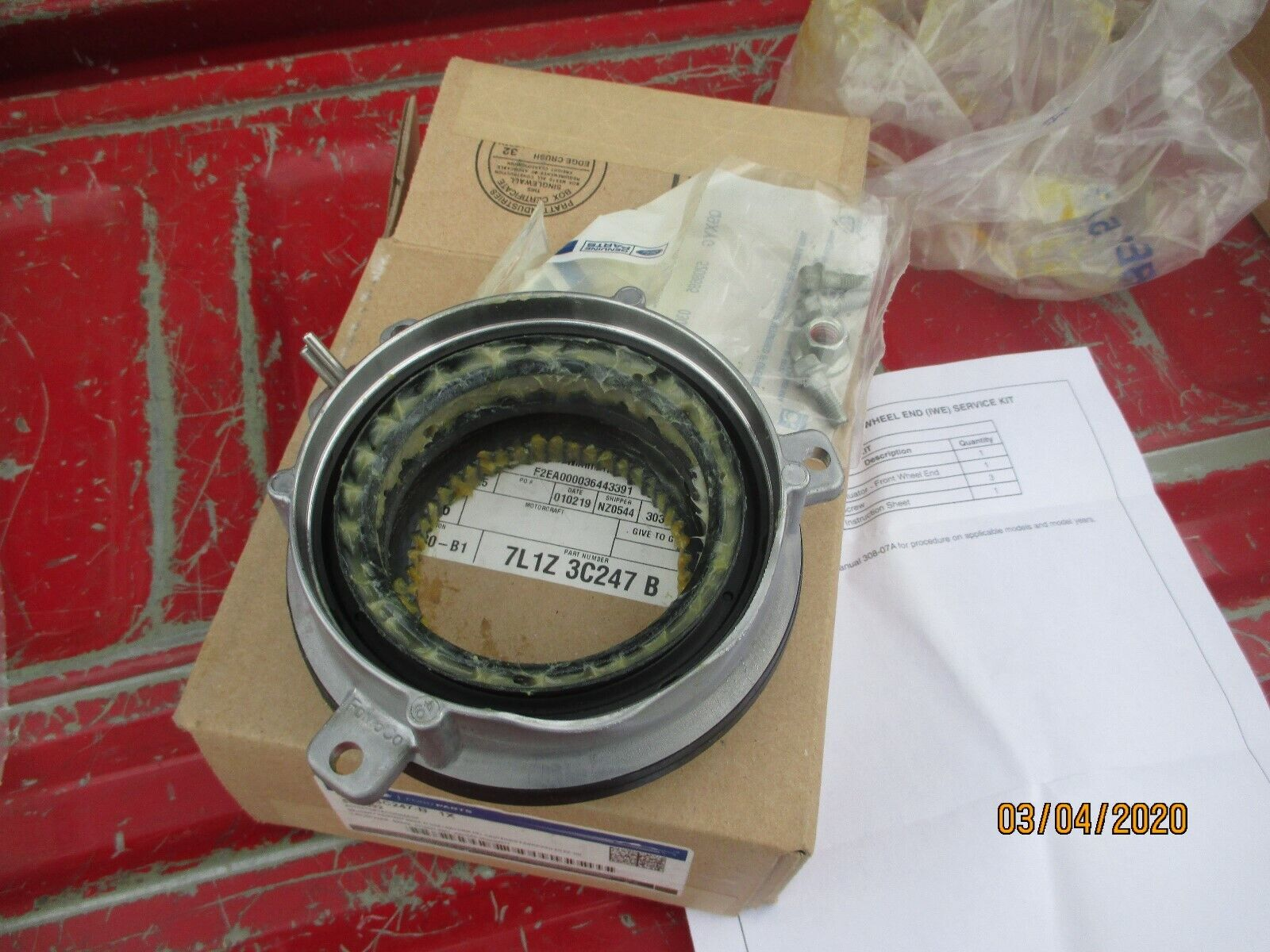Genuine Ford Actuator Assembly 7L1Z-3C247-B
