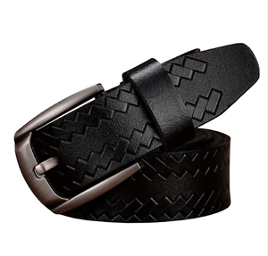 Details about New Cow Leather Genuine Pin Buckle Men Belts Belt Vintage High Fashion Style