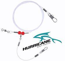 Hurricane 14-Inch Single Drop Bottom Monofilament Rig 3-Pack 60-Pound