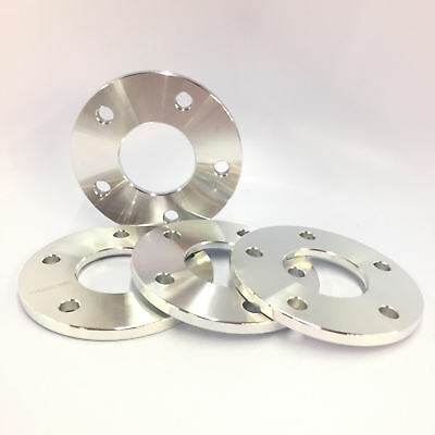"""4 hub centric spacers bolt pattern 5x4.5/"""" CB 64.1mm thickness 10mm"""