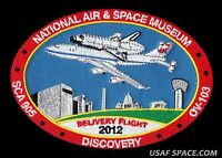 ORIGINAL - NASA - FINAL FERRY FLIGHT  DISCOVERY - SHUTTLE CARRIERS - SCA - PATCH