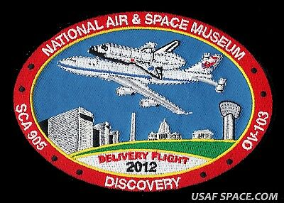 NASA SCA FINAL FERRY FLIGHT  DISCOVERY SHUTTLE CARRIERS ORIGINAL PATCH