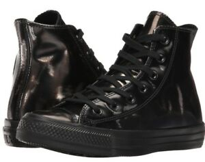 c10f91d5fcaa Converse Womens Chuck Taylor All Star Brush Off Leather High Top ...
