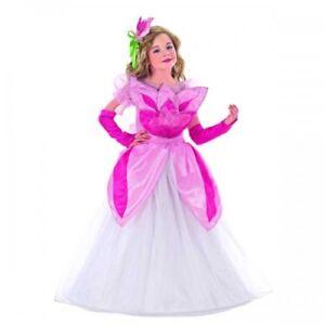 Caricamento dell immagine in corso Costume-Vestito-Carnevale-Bambina- PRINCIPESSA-ROSA-Regina-4- 47e472f698e