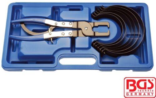 BGS Tools 7 Piece Piston Ring Compressor Set 1874