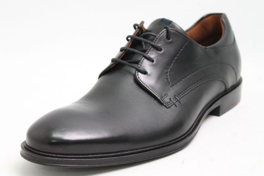 Lloyd zapato negro de cuero de cambio plantilla